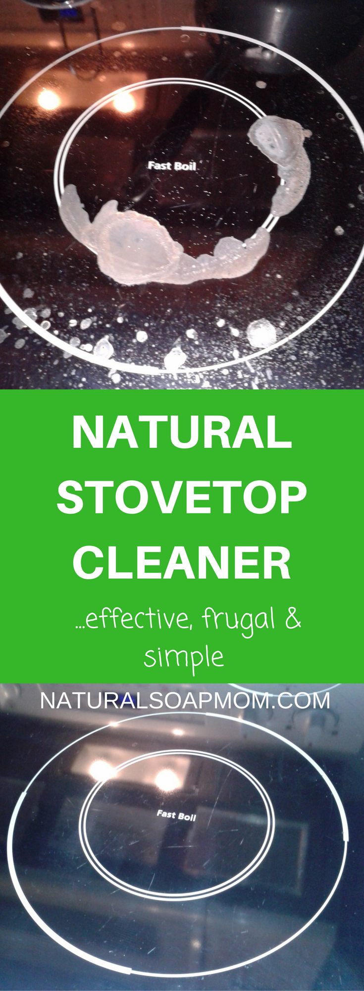DIY Natural Stovetop Cleaner