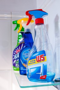 No Toxic Household Cleaners