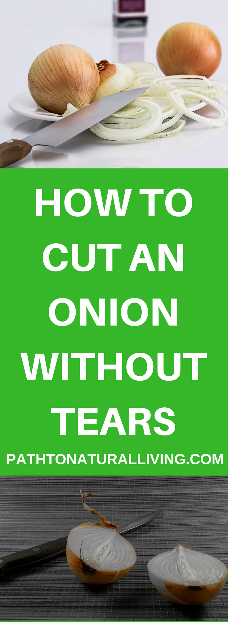 How to Cut an Onion Without Tears – How to Cut Up an Onion