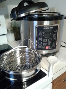 GoWise Pressure Cooker for the perfect sweet potato