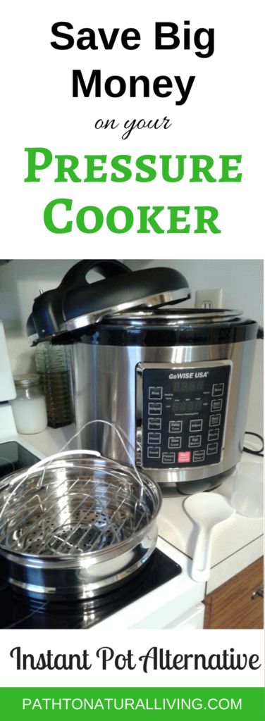 The GoWise Pressure Cooker makes pressure cookers make meal time fast and easy - healthy recipes like chicken, roast, and soup. Electric pressure cookers are easy to learn how to use. Brands like the Instant Pot get a lot of press, but you can save loads of money with the GoWise Pressure Cooker. The GoWise Pressure cooker is a great Instant Pot alternatives since it has all the same features. @pathtonaturalliving.com #pressurecooker #instantpot #gowisepressurecooker #pressurecookers #pressurecookerxl #pressurecookerrecipes #pressurecookerlife #pressurecookersrock #pressurecookermagic #pressurecookerlove #pressurecookerperfect #pressurecookerelectric #pressurecookerdinner #pressurecookerwin #pressurecookerfun #pressurecookervirgin #pressurecookernewbie #pressurecookerro