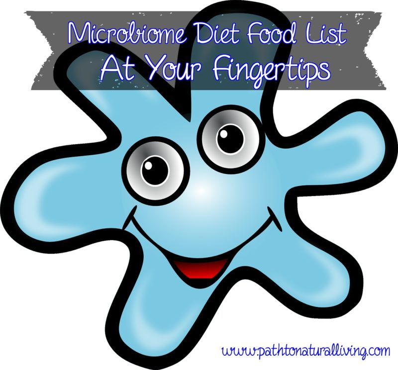 Microbiome Diet Food List
