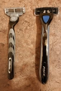 Dorco Pace 3 vs Gillette's Mac3