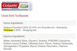 Colgate Toothpaste Ingredients
